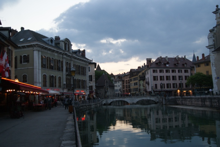 Annecy's beautiful town center