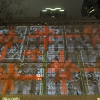 Do not miss the show that is projected (complete with music) on the outside walls of Saks Fifth Avenue.