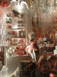 Intricate and elaborate store-window at Bergdorf-Goodman!