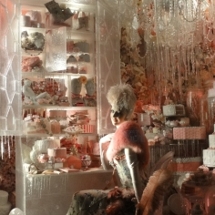 Intricate and elaborate store-window at Bergdorf-Goodman!