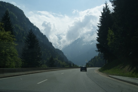 The drive from Annecy to Chamonix