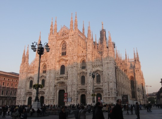 The Duomo - even more spectacular in its three dimensional view