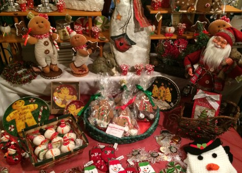 Christmas goodies on sale in the Lodge