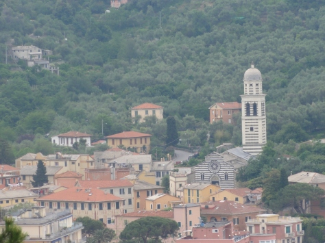 One last picture of Levanto, as we were driving away from Cinque Terre.