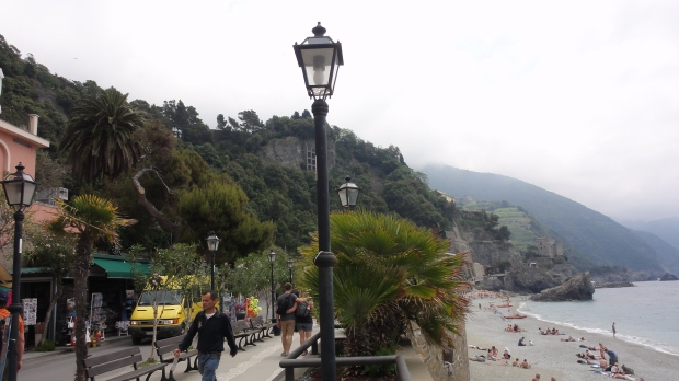 The village of Monterosso-al-mare