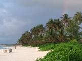 The hint of a rainbow.