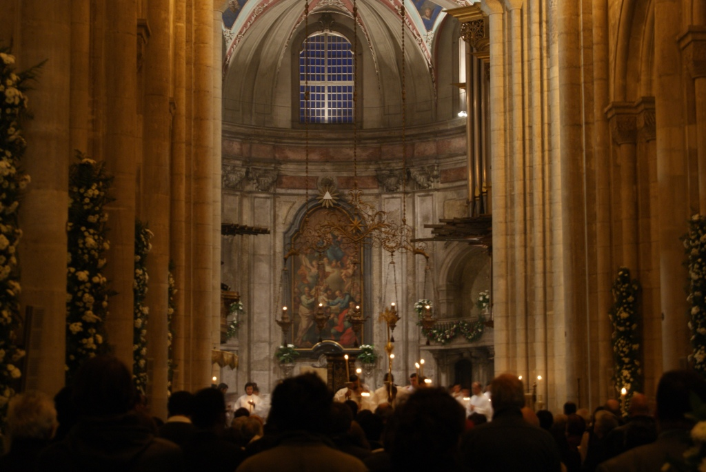 The sumptuous inside of the Cathedral