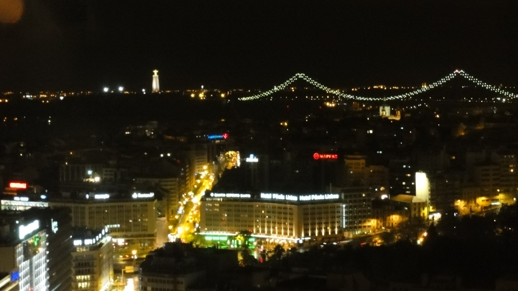 View from Lisbon's most elevated restaurant