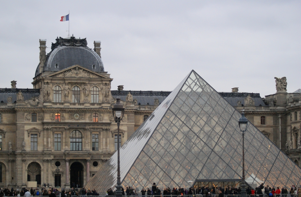 Glass Pyramid - Louvre, Paris