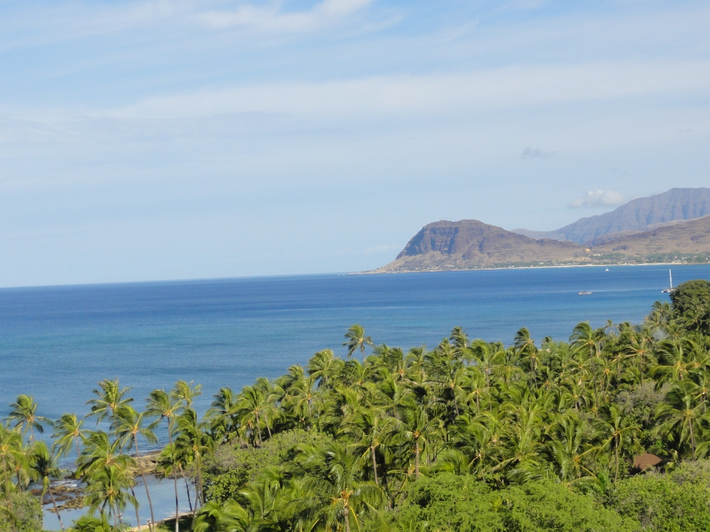 The coast of Ihilani, Oahu