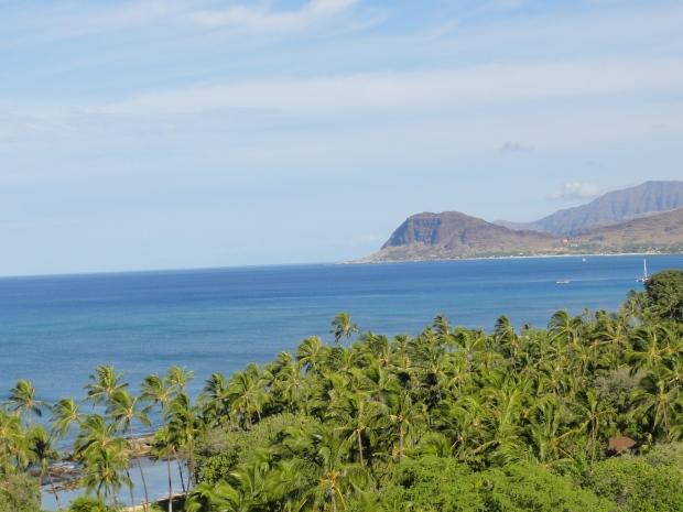 The coast of Ihilani, Oahu