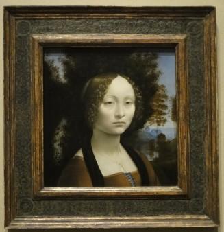 Ginerva de' Benci by Leonardo Da Vinci