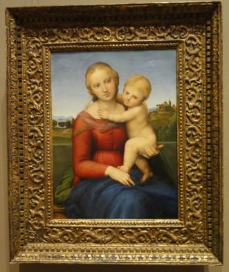 The Small Cowper Madonna, Raphael
