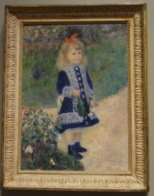 A Girl with a Watering Can, Auguste Renoir