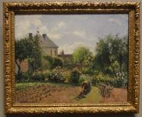 The Artist's Garden in Eragny, Camille Pissarro