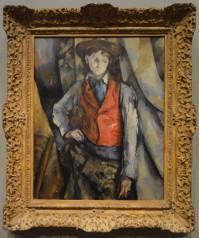 Boy in the Red Waistcoat, Paul Cezanne