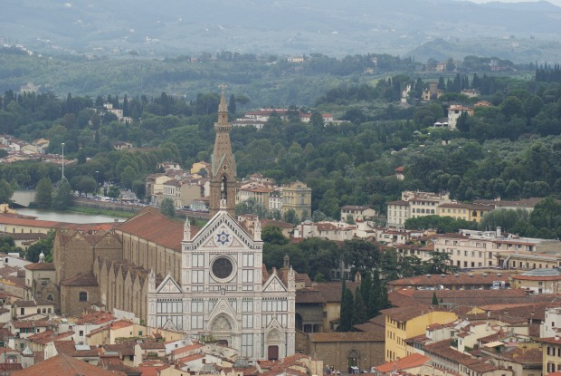 Florence and surrounding countryside