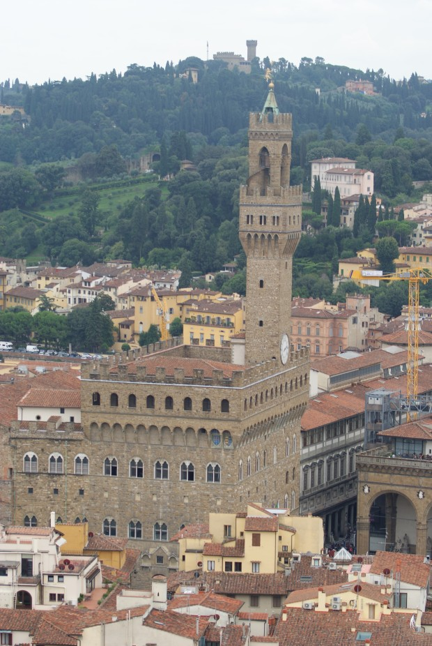 Another picture capturing Firenze taken from the bell tower.