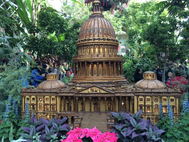 The Capitol recreated at the National Botanic Gardens