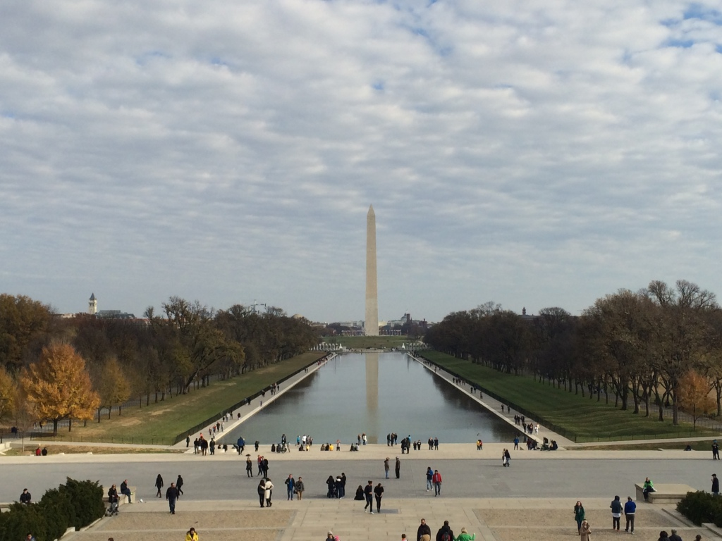 The National Mall and the Washington Monument
